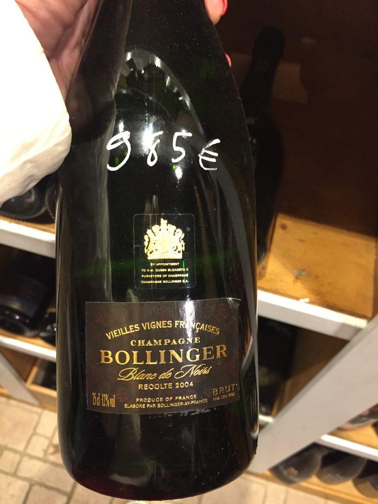Bollinger Vieilles Vignes Francaises 2004